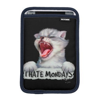 CAT MONDAY CUTE CARTOON iPad Mini Sleeve For iPad Mini