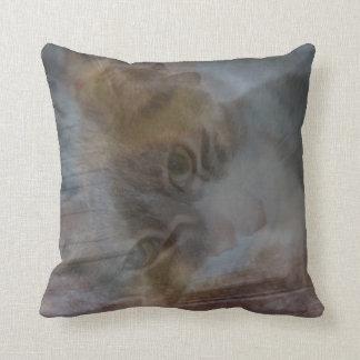 Cat Montage Of Photos Throw Pillow