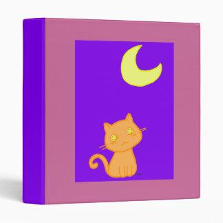 Cat Moon Binder