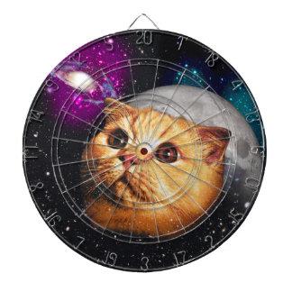 cat moon ,cat and moon ,catmoon ,moon cat dartboard with darts
