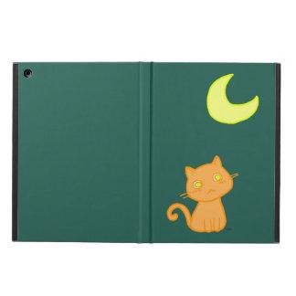 Cat Moon Tee iPad Air Cover