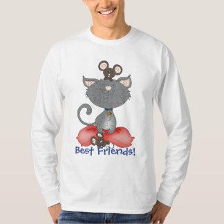 Cat & Mouse Best Friends Slumber Party T-Shirt