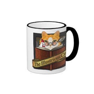 Cat, Mouse & Bird Literati Coffee Mug