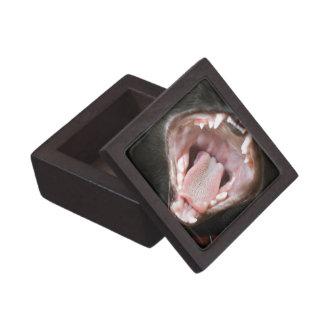 Cat Mouth Wide Open Premium Jewelry Box