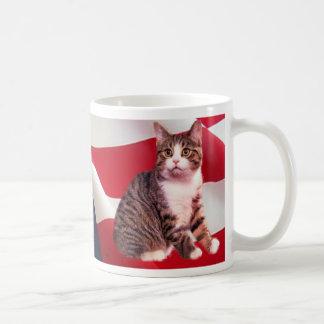 Cat Mug All American