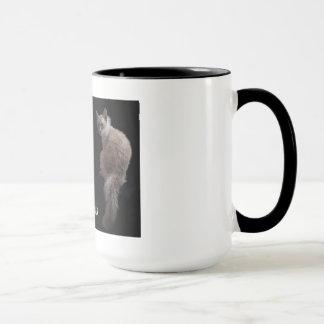 Cat Mug: LaPerm cats Mug
