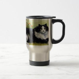 Cat Mug, Maine Coone Travel Mug