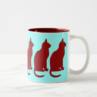 CAT MUG SIHOUETTE