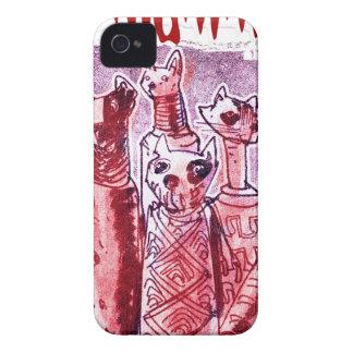 cat mummies iPhone 4 Case-Mate case
