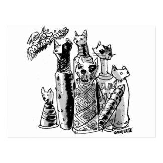 cat_mummies postcard