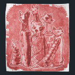 """cat mummies red bandana<br><div class=""""desc"""">design by anticute!..</div>"""