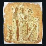 """cat mummies sand bandana<br><div class=""""desc"""">design by anticute!..</div>"""
