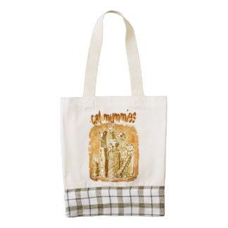 cat mummies zazzle HEART tote bag