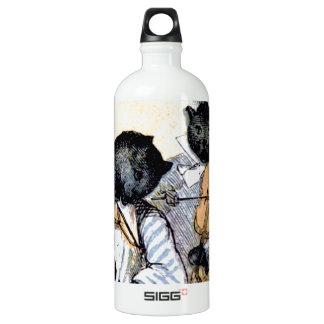Cat Musicians Water Bottle