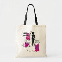 school bags, school, bags, catwoman, batman, nine lives, bat's away, cat must play, dc comics, artwork, super villain, Bag with custom graphic design