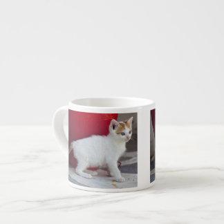 Cat, Mykonos, Greece Espresso Cup