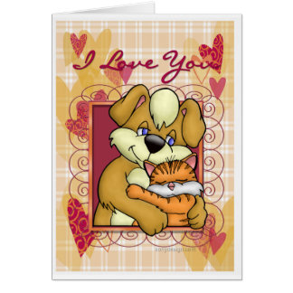 Cat N Dog Card
