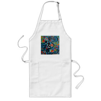 "Cat ""n"" Fish Long Apron"