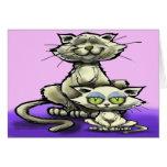Cat n Kitten Card