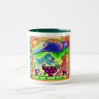 Cat 'n Moon Mugs #2