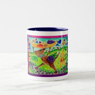 Cat 'n Moon Mugs #3