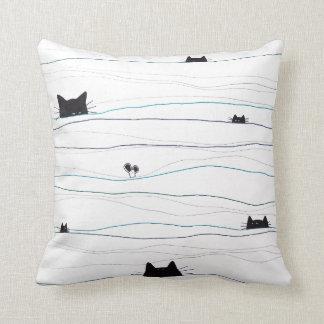 Cat 'n' Mouse Pillow