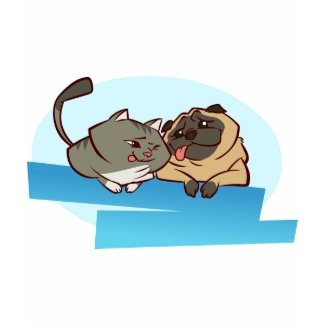 Cat n Pug shirt