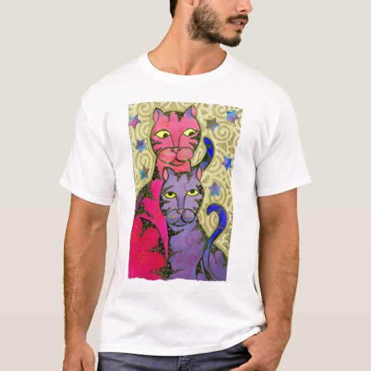 Cat N Stars T-Shirt
