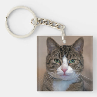 Cat named Mouse! Keychain