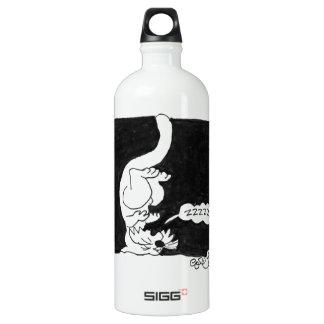 Cat Nap! Aluminum Water Bottle