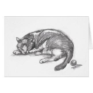Cat Nap Card