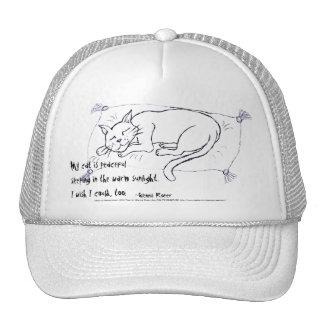 Cat Nap haiku Trucker Hats
