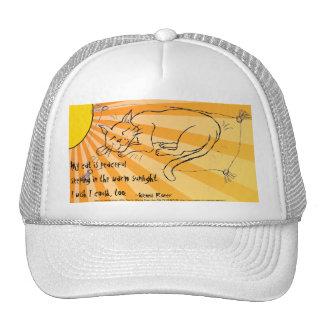Cat Nap haiku Hats