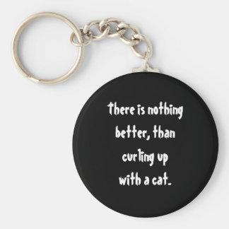 Cat Nap Key Chain