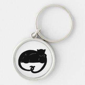 cat-nap keychain