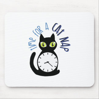 Cat Nap Mouse Pad