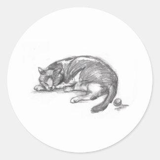 Cat Nap Stickers