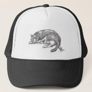Cat Nap Trucker Hat