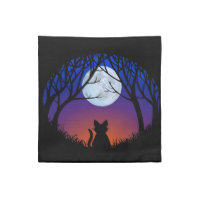 Cat Napkins Personalized Halloween Cat Napkins