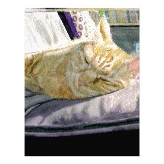 Cat Napping Letterhead