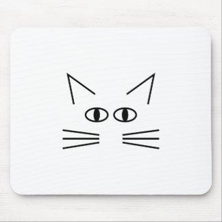 Cat neb contour mouse pad