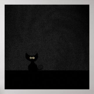 CAT NEGRO POSTER