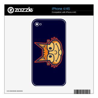 Cat Nerd II Decals For The iPhone 4