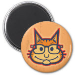 Cat Nerd II Fridge Magnet