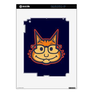 Cat Nerd II iPad 2 Skin