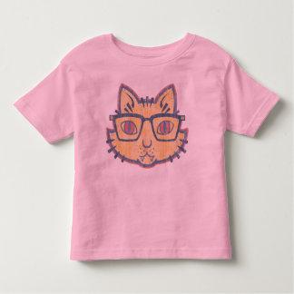 Cat Nerd Toddler T-shirt