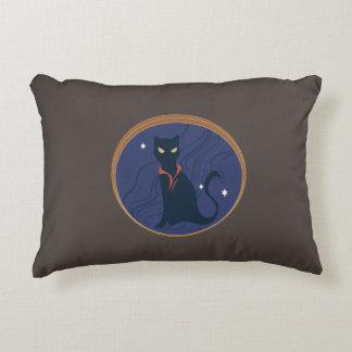 Cat Nouveau Decorative Pillow