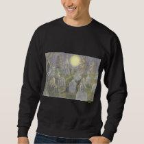 Cat of Black Plate 4 Sweatshirt