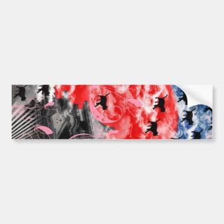 Cat of dawn bumper sticker