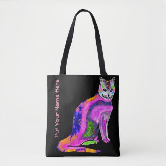 Cat of Many Colors Tote